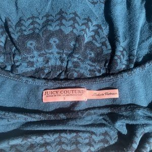 Juicy Couture Tops - 3/$25 Juicy Couture Blue Mandala Top Size Small